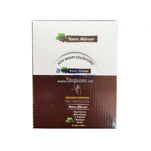 Kara Mürver Ağız Bakım Solüsyonu 1 Kutu 12 Adet x 15 ML Hendels Garden