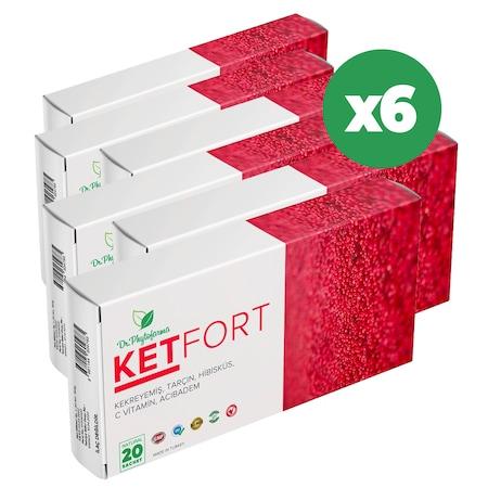 Ketfort Tozu 6 Kutu 60 Günlük Kullanım