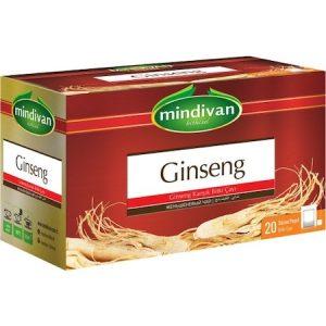 Mindivan Ginseng Karışık Bitki Süzen Poşet Çay 20'li