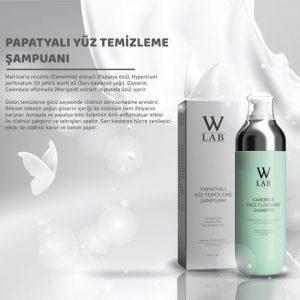 PAPATYALI YÜZ TEMİZLEME JELİ 200 ml w-lab cosmetics