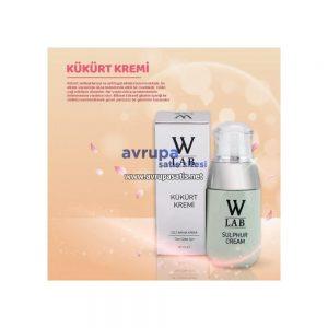 W-LAB Kükürt Kremi 50 ml antibakteriyel w-lab kozmetik