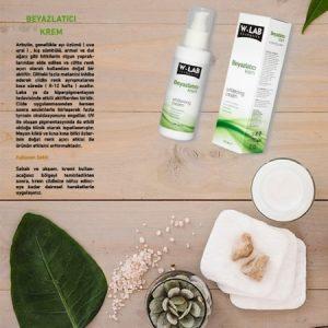 wlab kozmetik Beyazlatıcı Krem 100 ML w-lab kozmetik