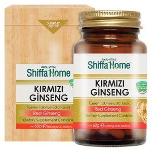 Aksu Vital Shiffa Home Kırmızı Ginseng Tablet 120 Tablet