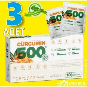 Curcumin 500 Herbal Food Altın Yoğurt Kürü 3 Adet 3 x10 şase
