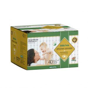 Shiffa Home Emziren Anne Bitki Çayı Süzen Poşet 40 lı