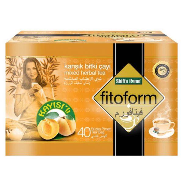Shiffa Home Fitoform Kayısılı Karışık Bitki Süzen Poşet Çay 40 x 2 G