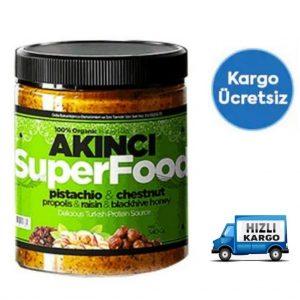 1 KUTU AKINCI EZMESİ SuperFood 230 GR 100 % organik