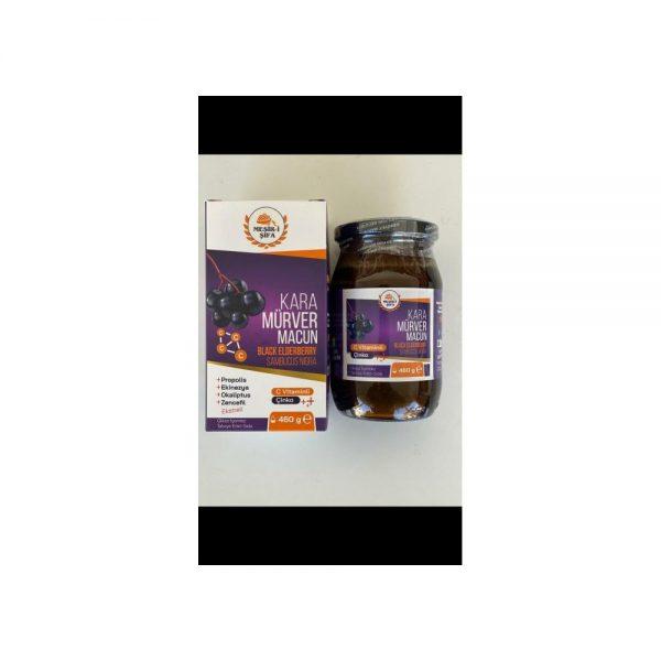 3 ADET MESİR-İ ŞİFA Kara Mürver Macunu 460 Gram - ÜCRETSİZ KARGO