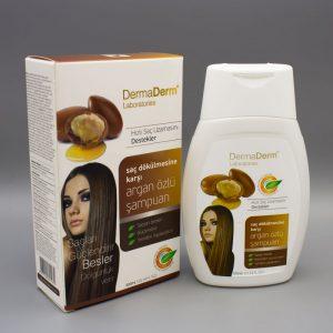 Dermaderm Argan Yağı Özlü Saç Bakım Şampuanı 300 Ml.