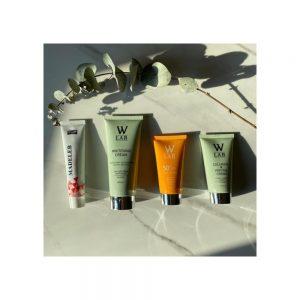 W-LAB kozmetik 4 lü set Beyazlatıcı -madeleb -güneş-petit