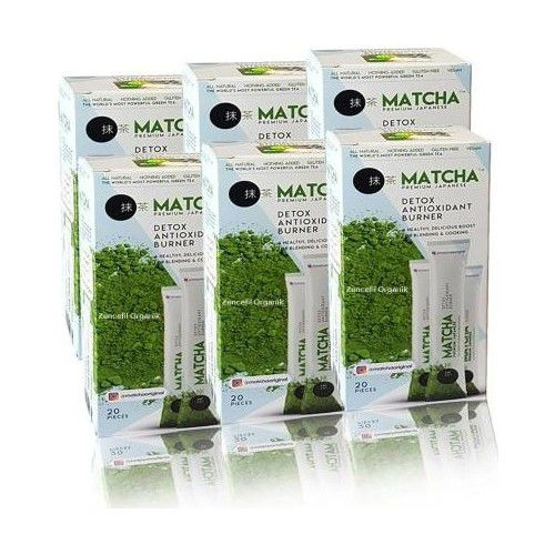 Bilge Matcha Premium Matcha Çayi Japon Çayi 6 Adet Matcha BARKODUYLA KONTROL EDİLEBİLİR