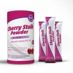 Cherry Stalk Powder Cherry Stalk 30 şaset 30 günlük kullanım
