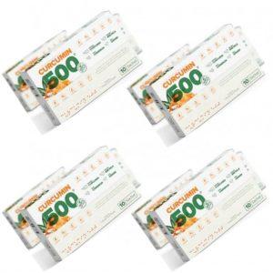 Curcumin 500 Herbal Food Altın Yoğurt Kürü 4 Kutu 4 x10 şase