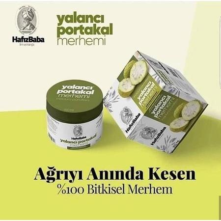 Hafız Baba Yalancı Portakal Masaj Jeli Merhemi Kremi 100 ml