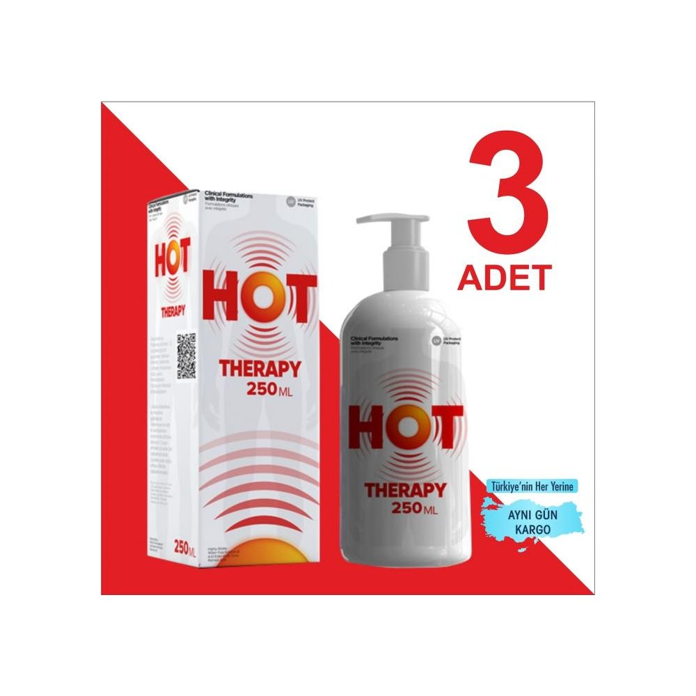 HOT THERAPY 250 ML ( 3 ADET )