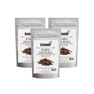 Teamix Kara Halileli Çay 3 paket 150 süzen poşet 300 Gr