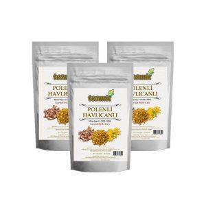 Teamix Polenli Havlıcanlı Çay  3 paket 100 gr 50 süzen poşet