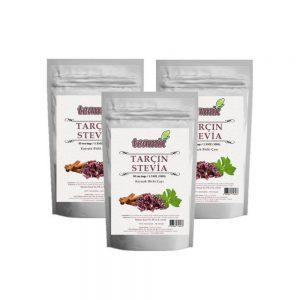 Teamix Tarçın Stevia Çayı 3 paket 150 süzen poşet 300 Gr