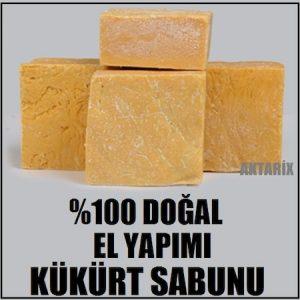 1 Kg. El Yapımı Kükürt Sabunu