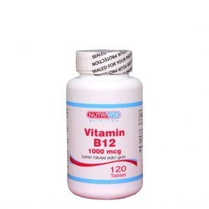 Nutrivita Nutrition Vitamin B12 1000 mcg 120 Tablet