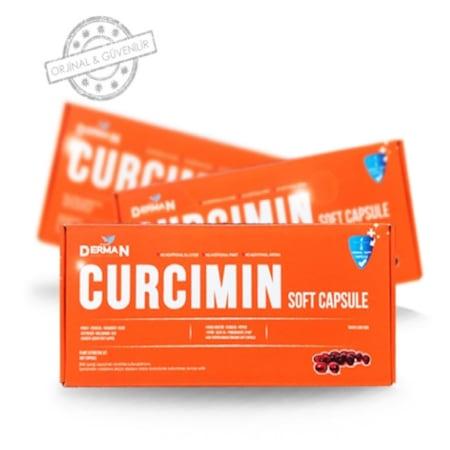 Derman Curcumin( Kurkumin ) Zerdaçal 30 Soft Kapsül NURS LOKMAN HEKİM