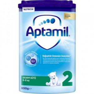 Aptamil 2 Akıllı Kutu Devam Sütü 800 gr 6-9 Ay