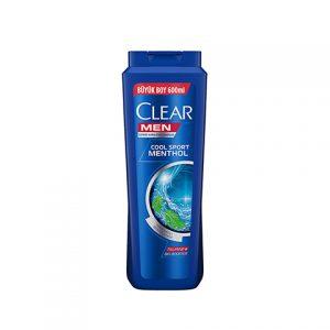 Clear Şampuan Men Cool Sport Menthol 600ml