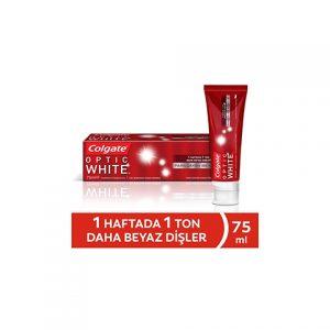 Colgate Diş Macunu 75ml Optik Beyaz Parıldayan Beyazlık