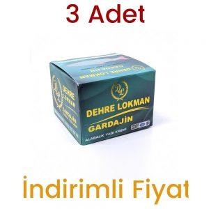 Dehre Lokman Gardajin Alabalık Yağı Kremi Ekstra 100 ML 3 Adet