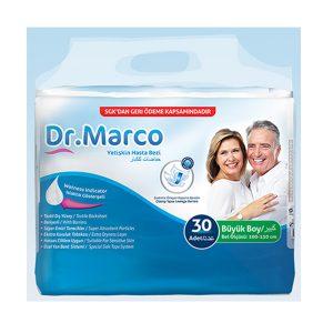 Dr Marco Yetişkin Hasta Bezi L Beden Büyük Boy Large 30lu