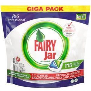 Fairy Jar 115 li Hepsi Bir Arada Bulaşık Makinesi Deterjanı