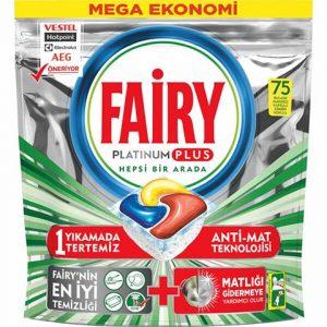 Fairy Platinum Plus 75li Bulaşık Makinası Deterjanı