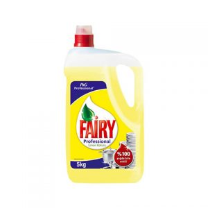 Fairy Sıvı Bulaşık Deterjanı 5000 ml Professional 5kg Limon
