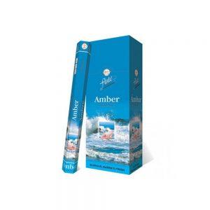 Flute  Amber Çubuk Tütsü   6 x 20  adet