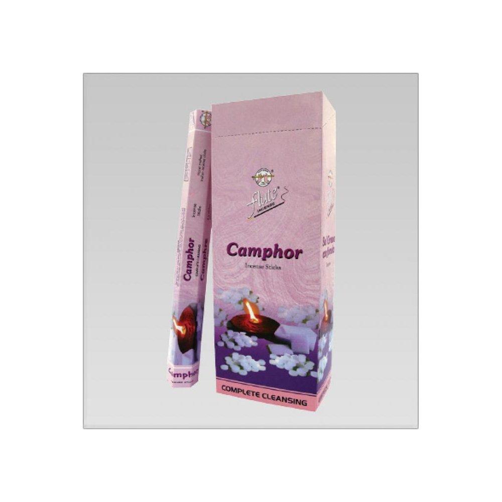 Flute Camphor Kafur çubuk tütsü  6 x 20 Adet