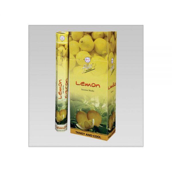 Flute  Limon lemon oda kokusu çubuk tütsü 6x20 Adet