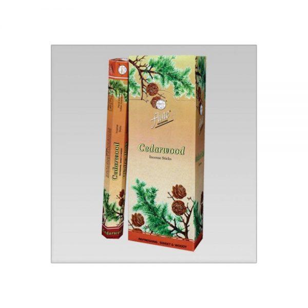 Flute  Sedir Ağacı Cedarwood Çubuk tütsü 6 x 20 Adet