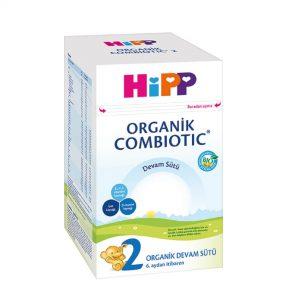 Hipp 2 Organik Combiotic Bebek Sütü 800gr Bebek Maması