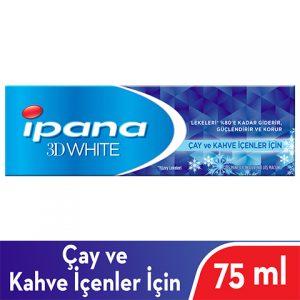 İpana Diş Macunu 3 Boyutlu Beyazlık Çay Ve Kahve İçenler İçin 75 ml