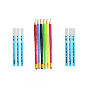 Lebron Hiç Bitmeyen Akıllı Kalem Set 6'lı