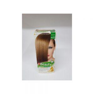 MM Beauty Bitkisel Saç Boyası Açık Kumral, Karamel M22 1 KUTU