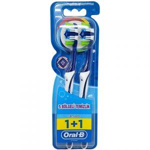 Oral B Diş Fırçası Complete 5 Yönlü Temizlik 1+1 40 Orta 1 Alana 1 Bedava Mediıum