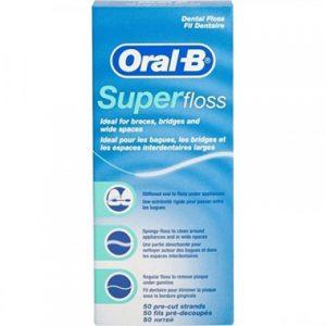 Oral B Diş İpi Super Floss 50li