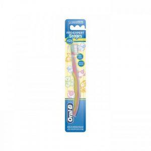 Oral B Pro Expert Stages Çocuk Soft Diş Fırçası 4-24 Ay
