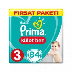 Prima Külot Bebek Bezi 3 Beden Midi Fırsat Paketi 84 Adetli