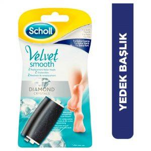Scholl Velvet Smooth Orta Sert Deriler İçin 2'li Yedek Başlık Seti