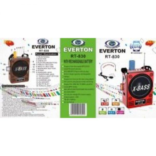Everton RT 830 Radyo