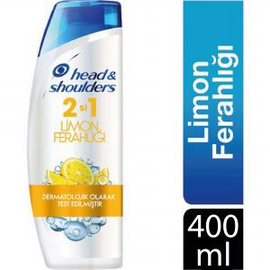 Head & Shoulders Şampuan 400 ml 2 si 1 Limon Ferahlığı