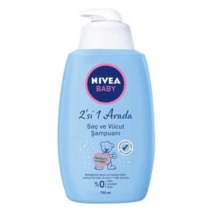 Nivea Baby Bebek Saç ve Vücut Şampuanı 750ml