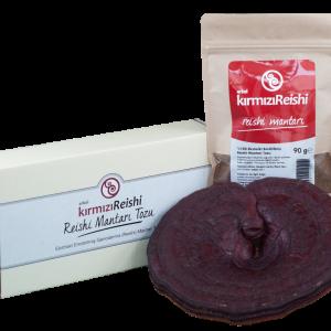 Erkel kırmızı Reishi reishi mantarı tozu 90 GR Ganoderma ( Reishi ) 1 KUTU